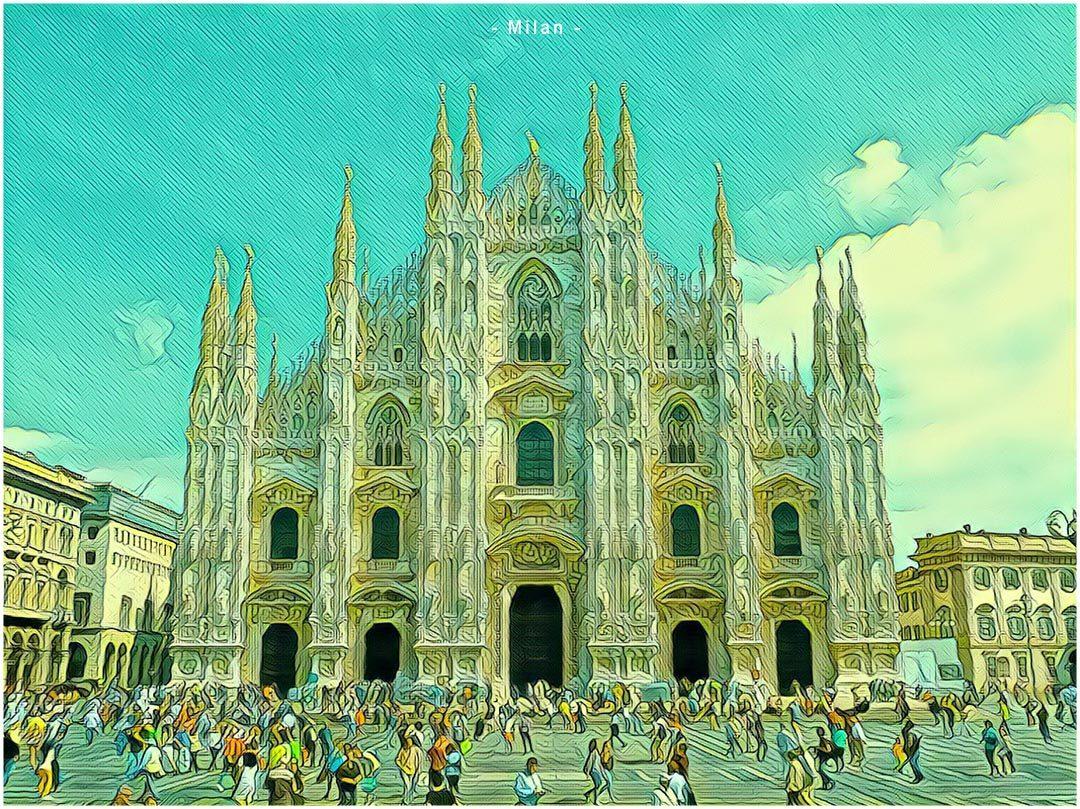 Savaitgalio skrydžiai į Milaną