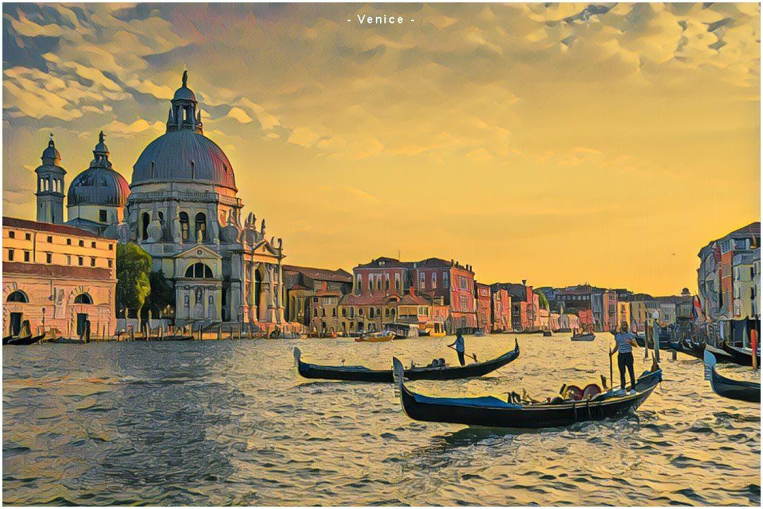 Skrydžiai į Veneciją