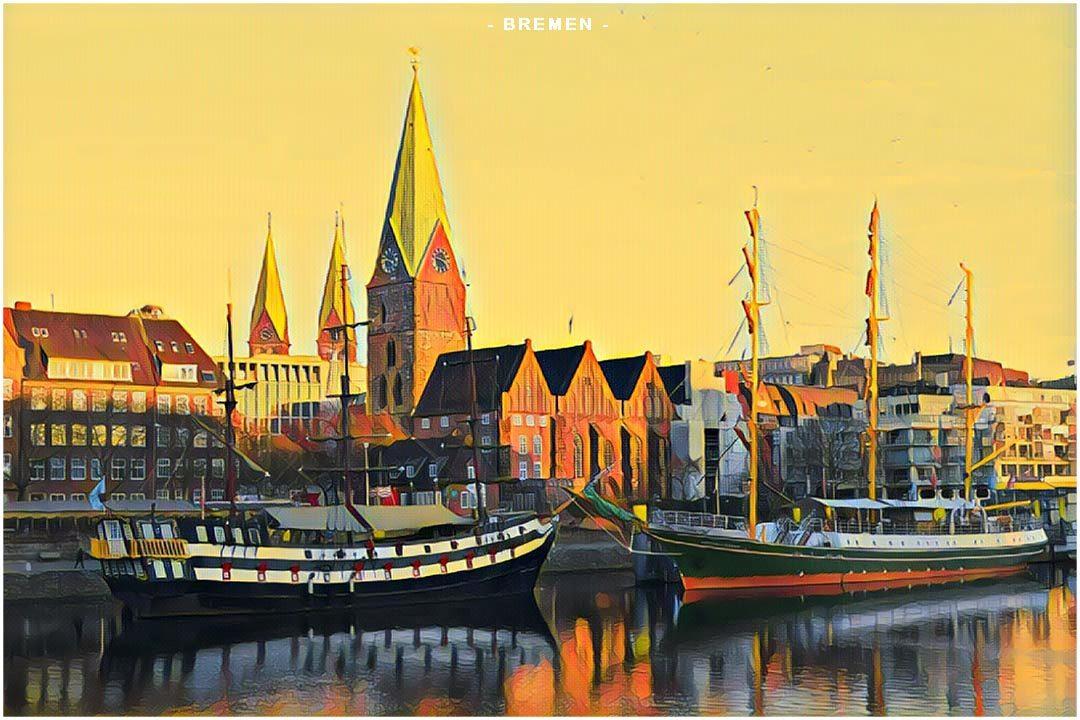 Vilnius Bremen Germany Weekend