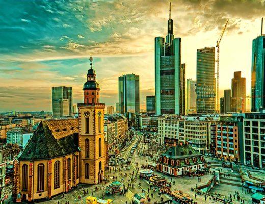 Vilnius Frankfurtas Vokietija Savaitgalis