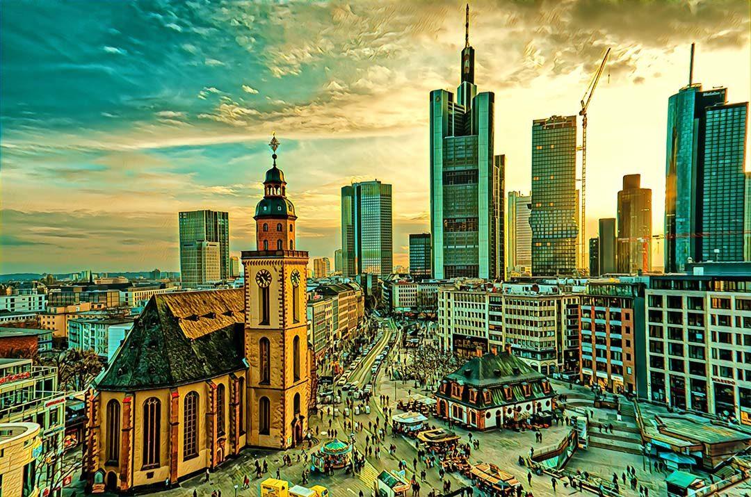Vilnius Frankfurt Germany Weekend