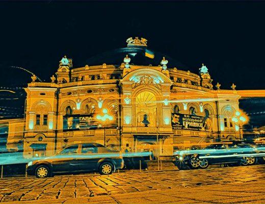 Vilnius Kyiv Ukraine Weekend