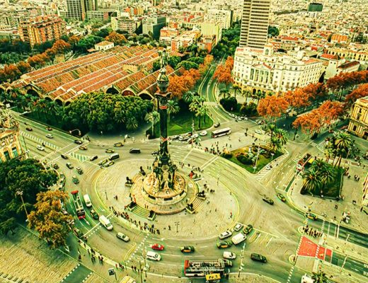 Riga Barcelona Spain Weekend