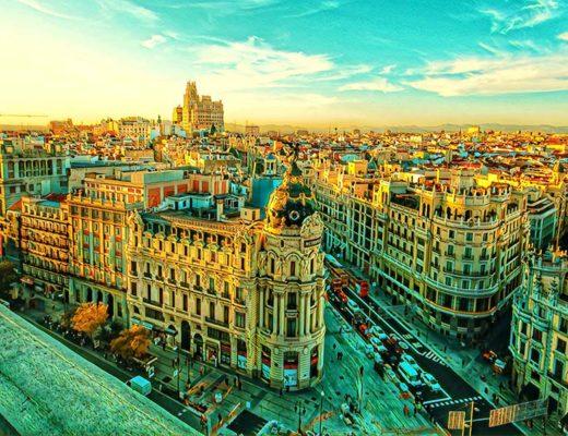 Vilnius Madrid Spain Weekend