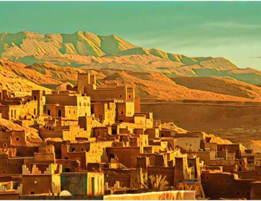 Vilnius Marrakesh Morocco