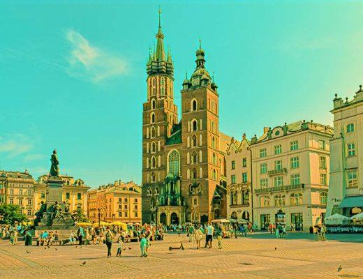 Vilnius Krakow Poland Weekend