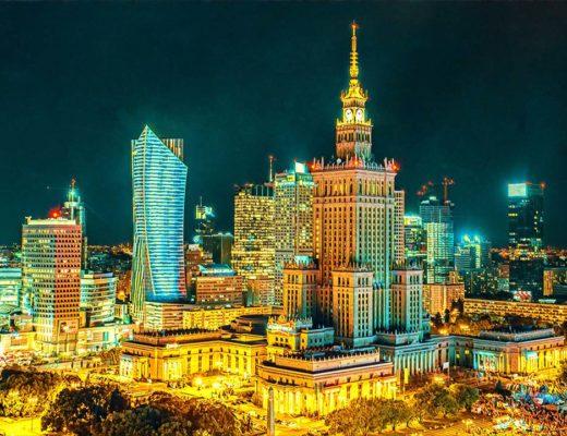 Kaunas Warsaw Poland Weekend