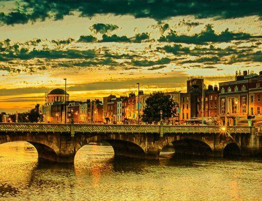Ryga Dublinas Airija Savaitgalis