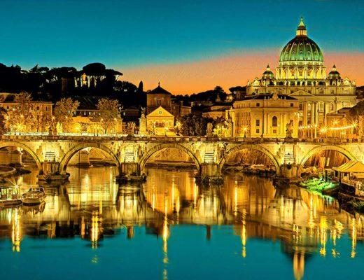 Vilnius Rome Italy Weekend