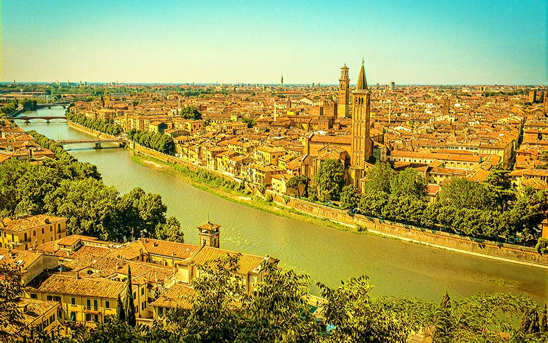 Weekend Flights to Verona