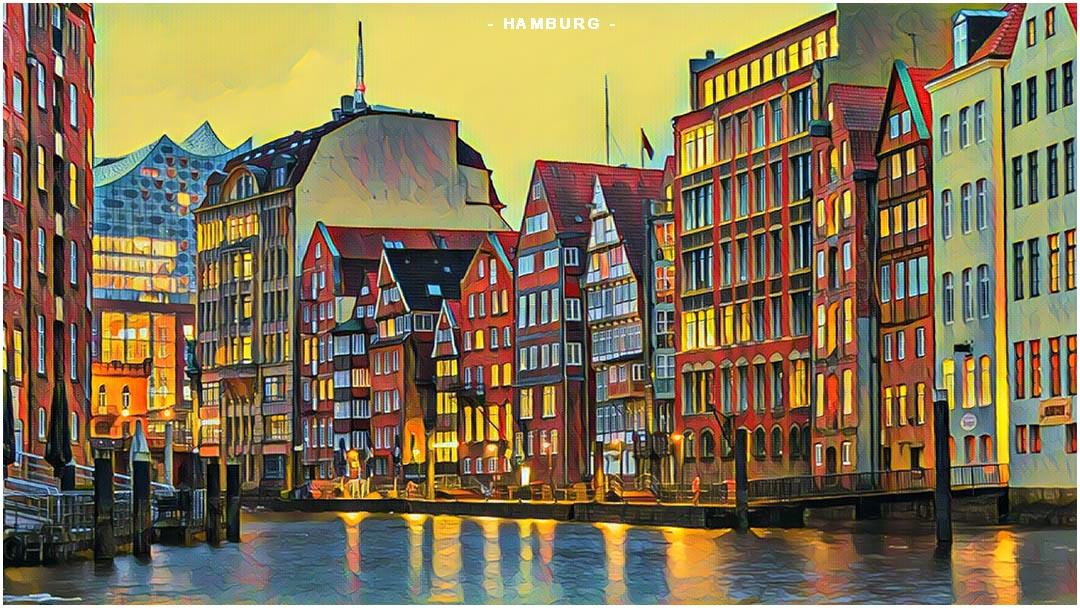 Weekend Flights to Hamburg
