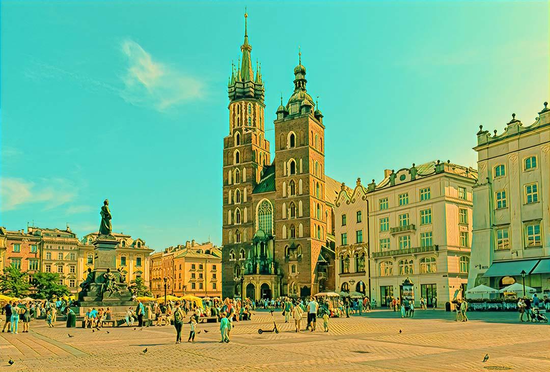 Weekend Flights to Krakow