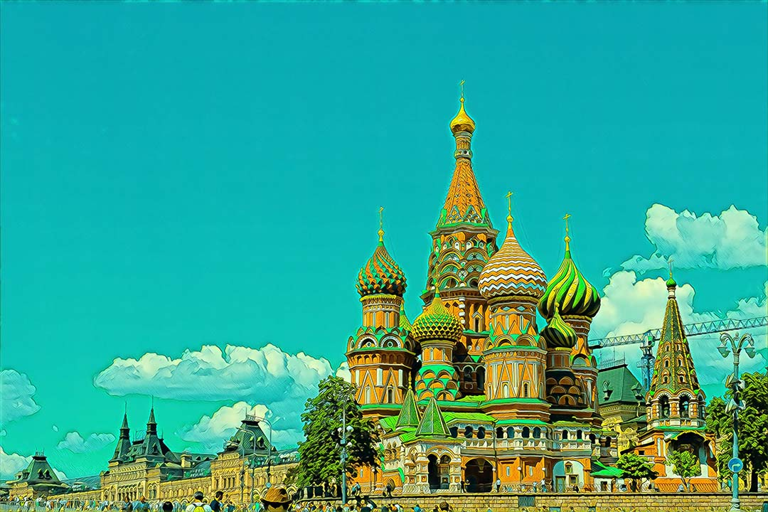 Weekend Flights to Moscow