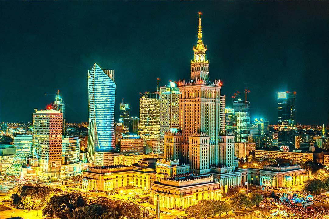 Weekend Flights to Warsaw